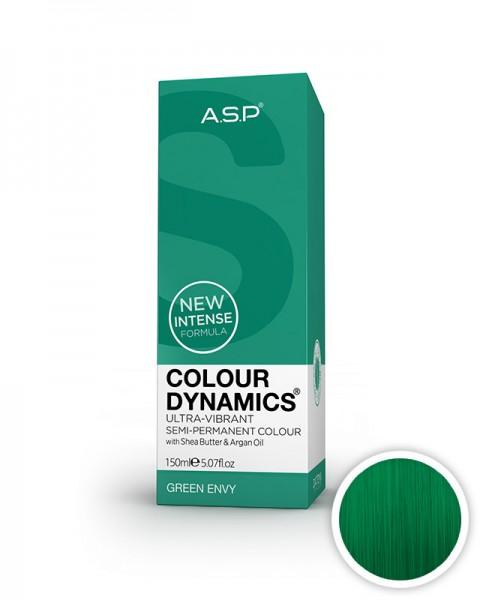 zelena barva za lase