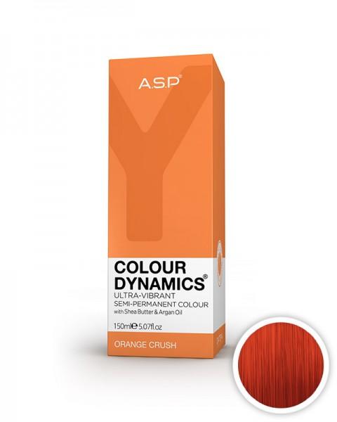 oranžna barva za lase