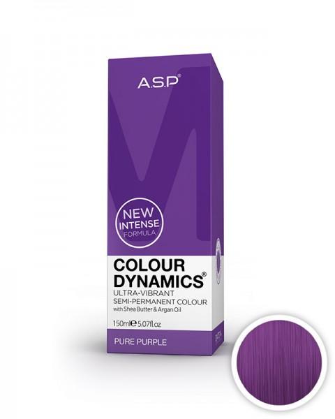 vijolična barva za lase