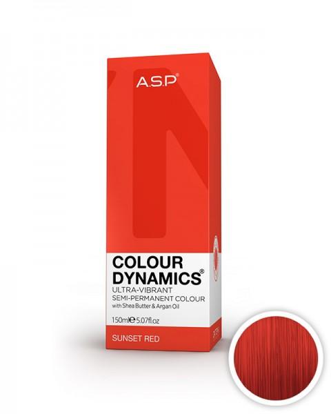 rdeča barva za lase